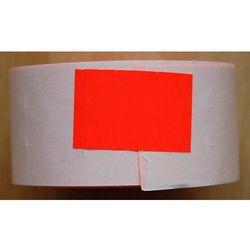 Rolka do metkownicy dwurzędowej - 2,6x1,6cm czerwona prosta