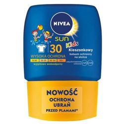 NIVEA 50ml Sun Kids Kieszonkowy balsam ochronny na słońce dla dzieci SPF 30