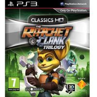 Gry na PlayStation 3, Ratchet & Clank Trylogia HD (PS3)
