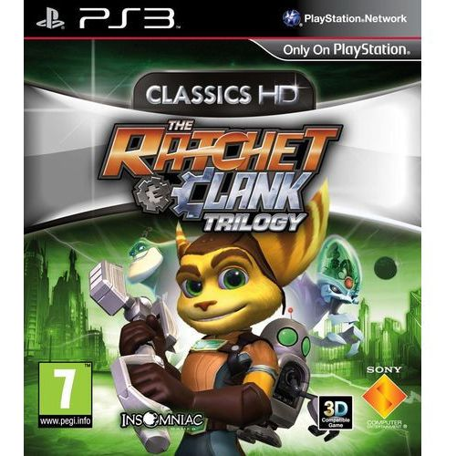 Gry PS3, Ratchet & Clank Trylogia HD (PS3)