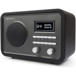 ARGON AUDIO iNet2+ CZARNY - radio DAB+ z możliwością zdalnego sterowania z bezpłatnej aplikacji | Zapłać po 30 dniach | Gwarancja 2-lata