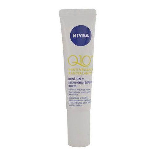 Kremy pod oczy, Nivea Visage Q10 Plus krem pod oczy przeciw zmarszczkom (Anti-wrinkle Eye Cream) 15 ml