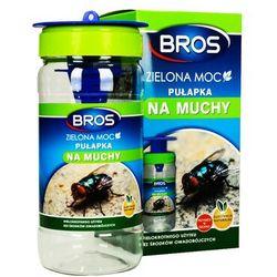 Bros Pułapka na muchy z wabikiem. pułapka przeciw muchom zielona moc.