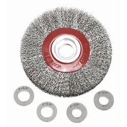Szczotka druciana VERTO 62H212 tarczowa 200 x 32 mm