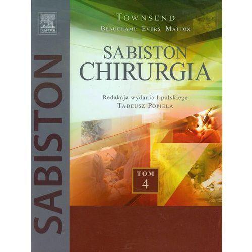 Leksykony techniczne, Chirurgia Sabiston Tom 4 (opr. twarda)