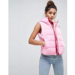 ASOS Padded Gilet Jacket - Pink