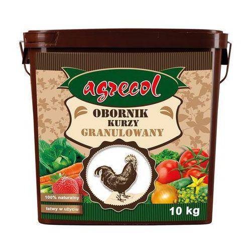 Odżywki i nawozy, Nawóz obornik kurzy Agrecol granulowany 10 l