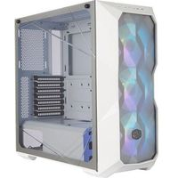 Obudowy do komputerów, OBUDOWA MIDI TOWER MASTERBOX TD500 MESH WHITE ARGB + KONTROLER MCB-D500D-WGNN-S01