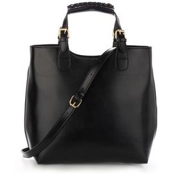 Torebka damska Shopper Bag Hit! czarna - czarny