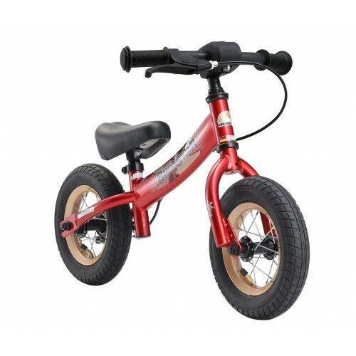 """Rowerki biegowe, Rowerek biegowy 10"""" BIKESTAR GERMANY sport czerwony"""