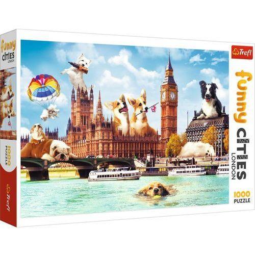 Puzzle, Puzzle 1000 Psy w Londynie TREFL