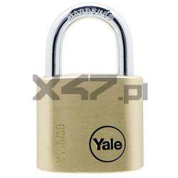 Y110/30/117/1 Kłódka mosiężna z pałąkiem ze stali hartowanej Yale
