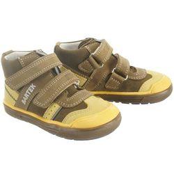 BARTEK 81859 V04 khaki żółty, obuwie profilaktyczne dziecięce, rozmiary: 19-26 - Zielony