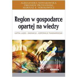 Region w gospodarce opartej na wiedzy (opr. miękka)