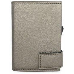 SecWal Etui na karty bankowe RFID skórzana 7 cm silber ZAPISZ SIĘ DO NASZEGO NEWSLETTERA, A OTRZYMASZ VOUCHER Z 15% ZNIŻKĄ