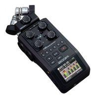 Rejestratory i programy DJ, ZooM H6 Black cyfrowy rejestrator Płacąc przelewem przesyłka gratis!