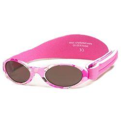 Okulary przeciwsłoneczne dzieci 0-2lat UV400 BANZ - Pink Camo