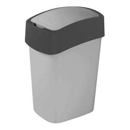 Kosze na śmieci, Kosz do segregacji śmieci FLIP BIN 25l szary