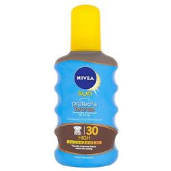 Nivea Sun Protect & Bronze suchy olejek do opalania SPF 30 (Sun Spray) 200 ml