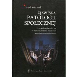 Zjawiska patologii społecznej i przeciwdziałanie im w mieście średniej wielkości. Kryminologiczna monografia terenu