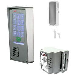 Zestaw domofonowy jednorodzinny z szyfratorem RADBIT Z-NOV-BZ-1P GD36 SAT