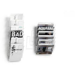 Pojemniki na dokumenty poziome A4 FLEXIPLUS A4 6 szt. kolor biały 1700014011