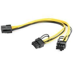 Kabel wewnętrzny zasilający PCI-Express 8 pin do PCIe 6+2 pin Gembird