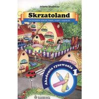Książki dla dzieci, Skrzatoland 1 Zadczarowane szlaczki, kreski, kropki i zygzaczki (opr. miękka)