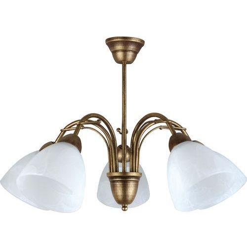Lampy sufitowe, Żyrandol Klara 5 504/5 - Lampex - Sprawdź kupon rabatowy w koszyku