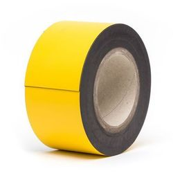 Magnetyczna tablica magazynowa,żółte, rolka