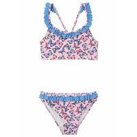 Stroje kąpielowe dla dzieci, Bikini dziewczęce (2 części) bonprix różowy kwarc