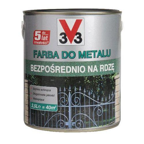Farby, Farba V33 na rdzę czarny matowy 2,5 l