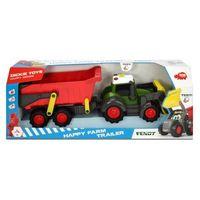 Traktory dla dzieci, Happy Traktor z przyczepką - DARMOWA DOSTAWA OD 199 ZŁ!!!