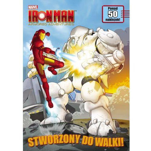 Książki dla dzieci, Iron Man Armored Adventures. Stworzony do walki! - MAS4 (opr. miękka)