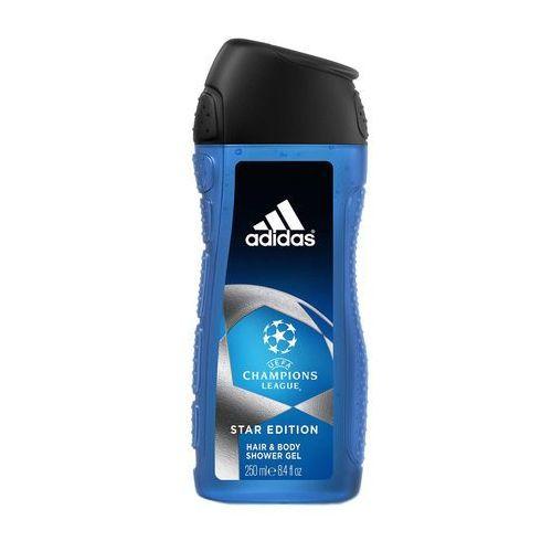 Żele pod prysznic, Adidas Champions League Star Edition 250 ml żel pod prysznic