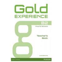 Książki do nauki języka, Gold Experience B2 Teacher's Book (opr. miękka)