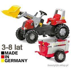 Rolly toys traktor na pedały z przyczepą i łyżką 3-8 lat do 50kg
