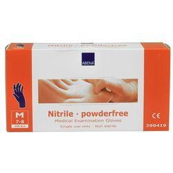 Rękawiczki nitrylowe niebieskie niepudrowane M BP290419