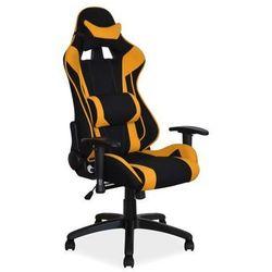 Fotel Signal Viper gamingowy - żółty/czarny Styczniowa Promocja!
