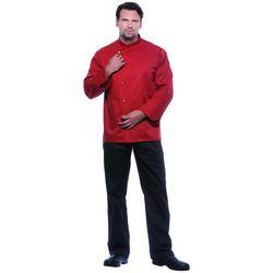 Bluza kucharska męska, rozmiar 66, w kolorze rdzy | KARLOWSKY, Lars