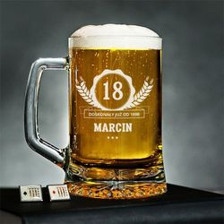Doskonały od - Personalizowany Kufel - Kufel do piwa