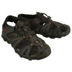 VEMONT 9S2084 C czarny, sandały męskie - Czarny
