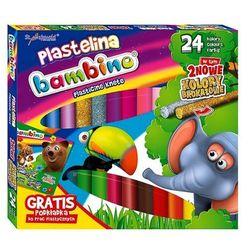 Plastelina Bambino 24 kolory + podkładka