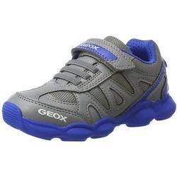 Geox chłopcy J munfrey Boy A Sneaker, kolor: szary, rozmiar: 35