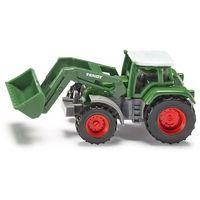 Traktory dla dzieci, Siku 10 - Traktor Fendt ze spycharką