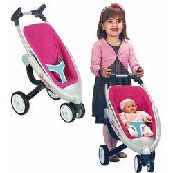 Smoby Spacerówka wózek trójkołowy dla lalek Quinny metal