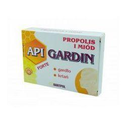 API-GARDIN Pastylki propolisowe Forte Propolis i Miód na gardło krtań 16szt