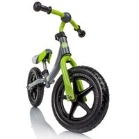 Rowerki biegowe, Rowerek biegowy KINDERKRAFT 2Way Zielono-szary