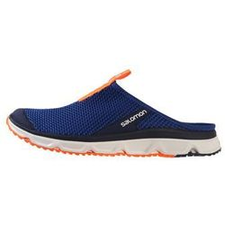 Salomon RX SLIDE 3.0 Sandały trekkingowe surf the web/white/shocking orange