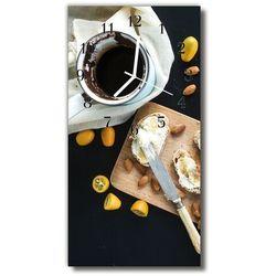Zegar Szklany Pionowy Kuchnia Śniadanie żywność kolorowy
